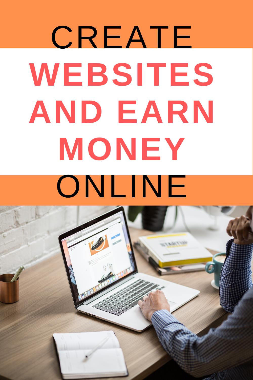 create website and make money